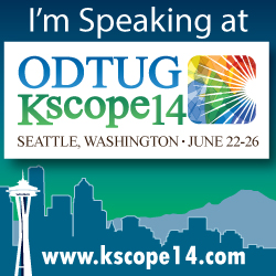 I'm Speaking at KScope 2014